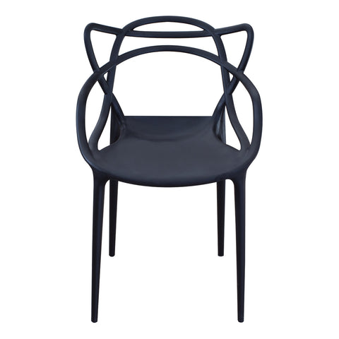 Silla Bermen Negro |  Bermen Black Chair