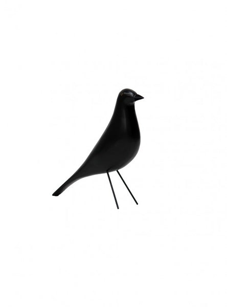 Ave Eames Negra  | Eames Black House Bird