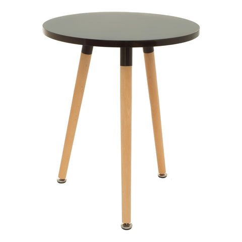 Mesa Lateral Milan Negra |  Milan Black Side Table