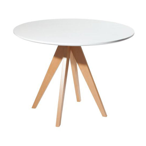 Mesa Dorian Blanca 100 Diametro | Dorian Table  100 Diameter