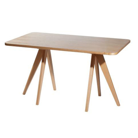 Mesa Doris Natural 160 x 90 cm | Doris Natural Table 160 x 90 cm