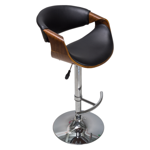 Banco Mónaco Negro | Black Monaco Bar Stool