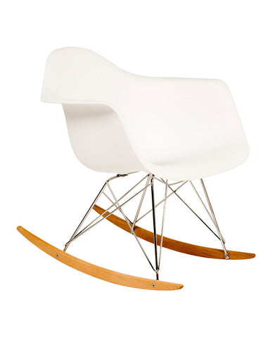 Mecedora Berlín Blanca  | Berlin Rocking Chair White