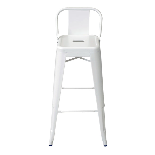 Banco Bolton Respaldo Bajo Blanco |  Bolton Bank Backrest White