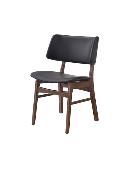 Silla Manchester Nogal Negro | Manchester Black Walnut Chair