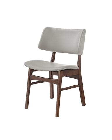 Silla Manchester Nogal Gris | Manchester Gray Walnut Chair