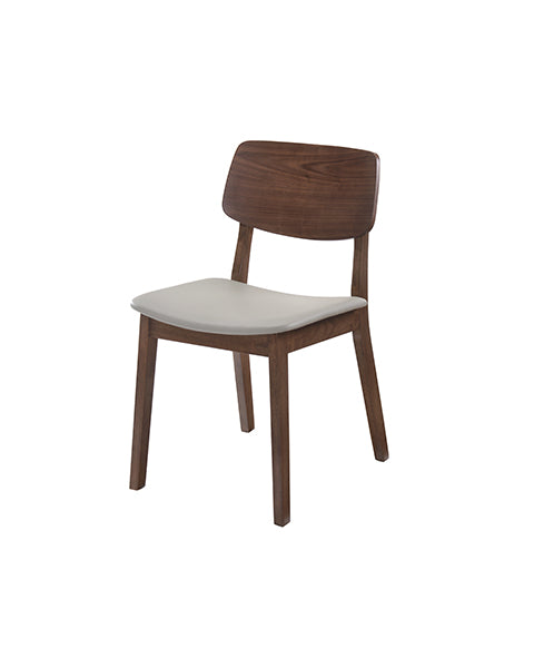 Silla York Nogal Gris | York Gray Walnut Chair