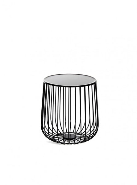 Mesa Lateral Roma Negra | Black Roma Side Table