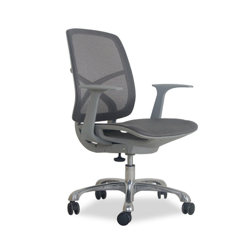 Silla de Oficina Drot Gris |  Gray Drot Office Chair