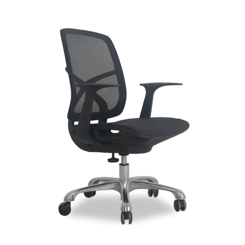 Silla de Oficina Drot Negra |  Black Drot Office Chair