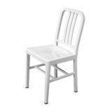 Silla Marín Metal Blanca | White Marin Chair