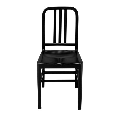Silla Marín Metal Negra | Black Marin Chair