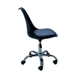 Silla de Oficina Pirámida Negra | Black Piramida Office Chair