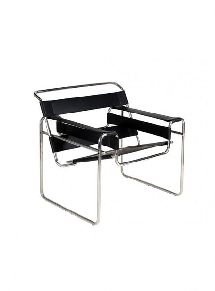 Silla Wassily Negra | Wassily Black Chair