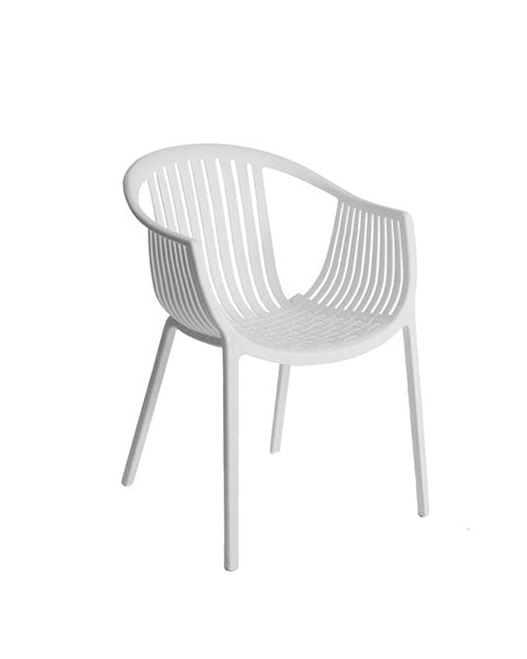 Silla Basket Blanca | White Basket Chair
