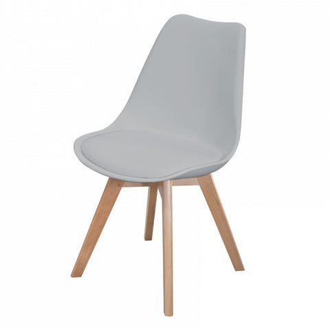 Silla Catarina Gris |  Grey Catarina Chair