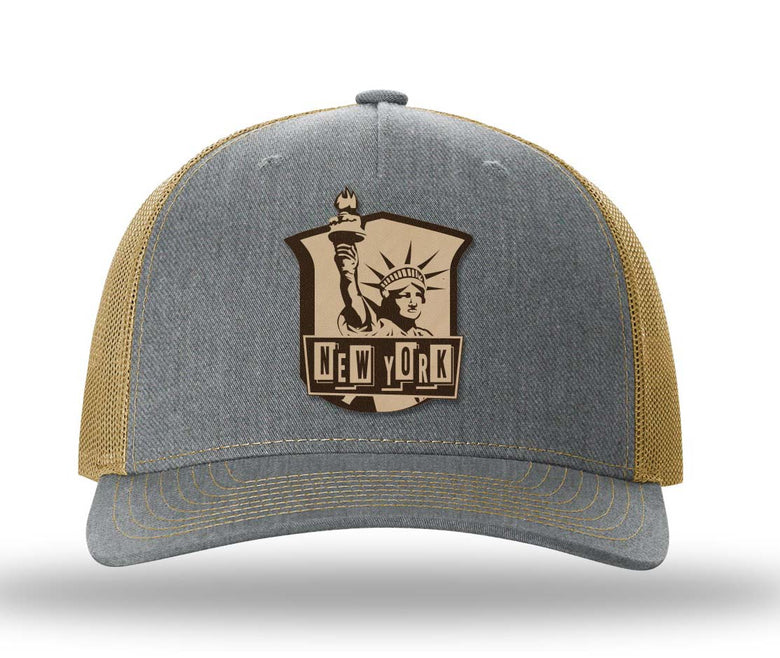 New York Five Panel Trucker