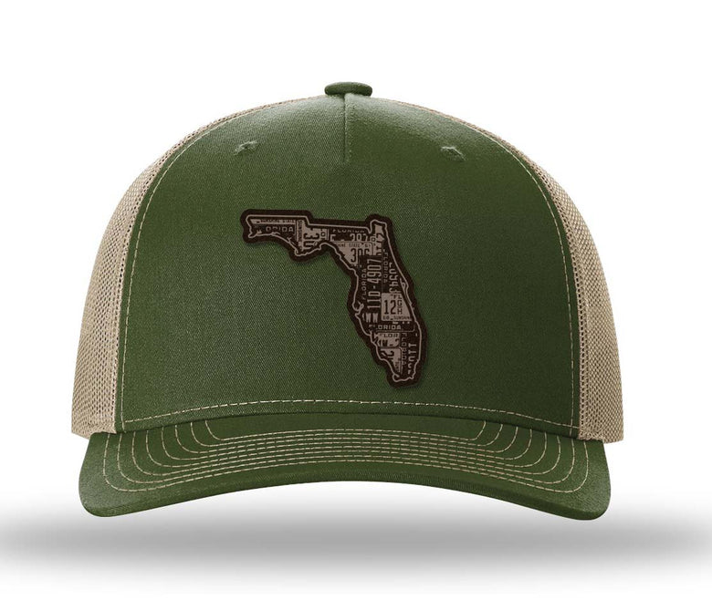 Florida Five Panel Trucker
