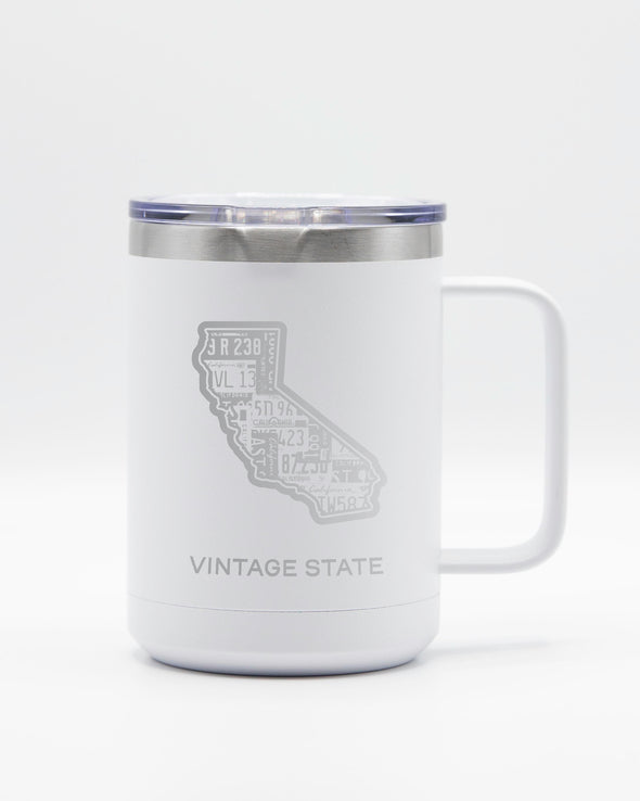 California 15oz Insulated Mugs