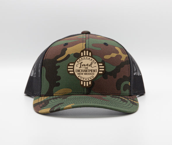 New Mexico Camo Trucker