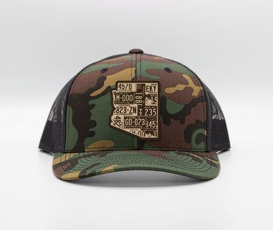 Arizona Camo Trucker