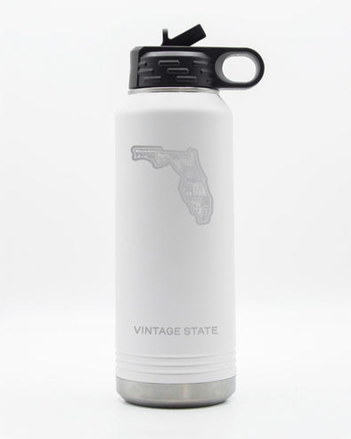 Florida 32oz Insulated Bottle
