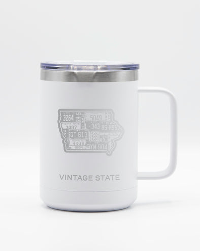 Iowa 15oz Insulated Mugs