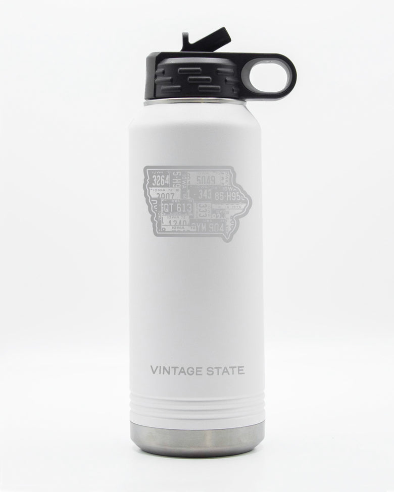 Iowa 32oz Insulated Bottle
