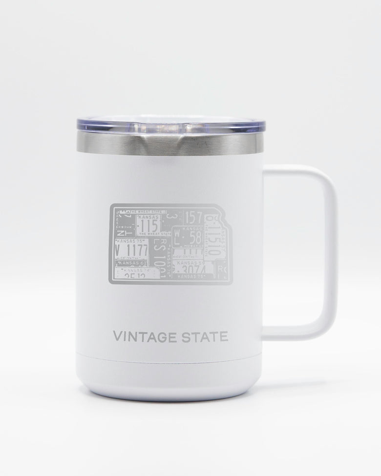 Kansas 15oz Insulated Mugs
