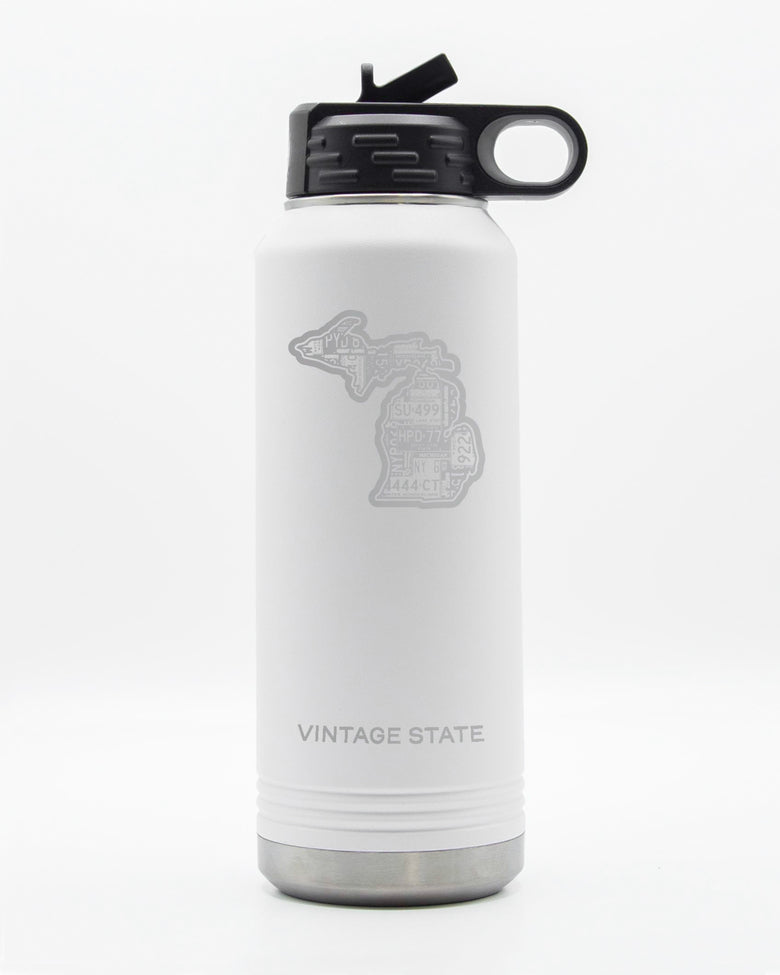 Michigan 32oz Insulated Bottle