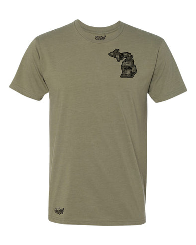Michigan Vintage Men's T-Shirt