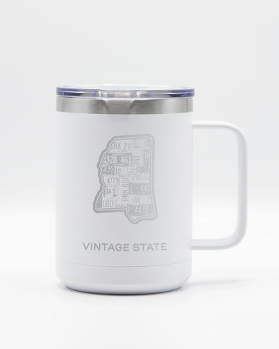 Mississippi 15oz Insulated Mugs