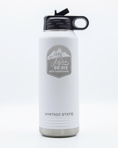 New Hampshire 34oz Insulated Bottle