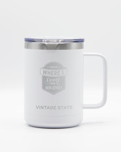 New Jersey 15oz Insulated Mugs