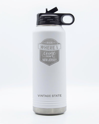 New Jersey 32oz Insulated Bottle