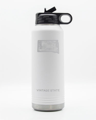 South Dakota 32oz Insulated Bottle