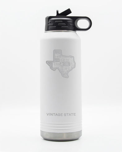 Texas 32oz Insulated Bottle