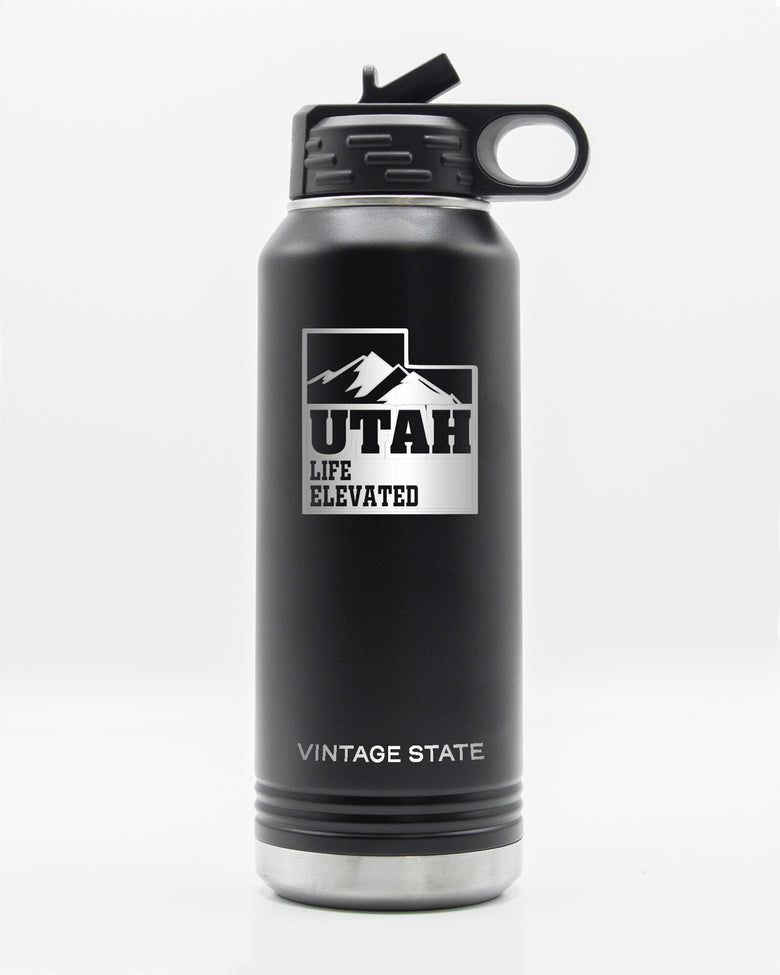 Utah 32oz Insulated Bottle