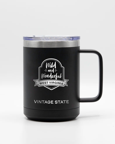 West Virginia 15oz Insulated Mugs