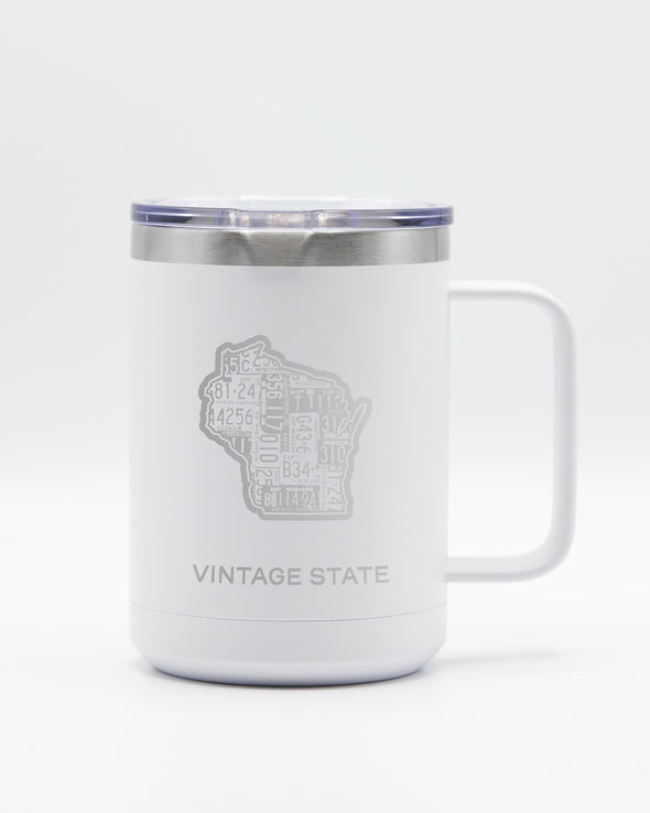 Wisconsin 15oz Insulated Mugs
