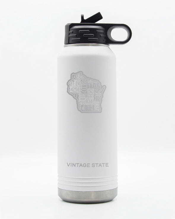 Wisconsin 32oz Insulated Bottle