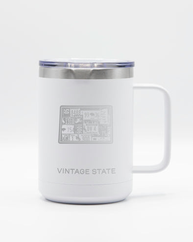 Wyoming 15oz Insulated Mugs
