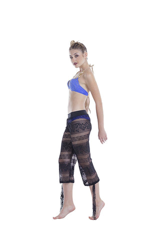 Beach Pants, Mesh Pool Swim Cover Up for Women