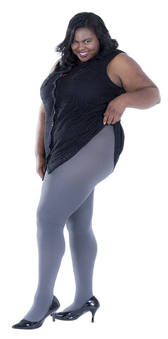 1 Pack Womens Plus Size Thermal Tights, Terry-lined Brushed Interior