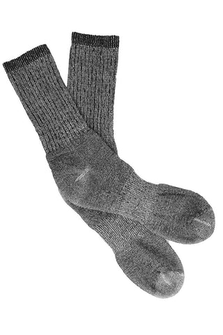 4 Pairs Womens Merino Wool Socks, Womens Hiking Socks, Soft, 77% Wool, MADE IN USA (Womens - Sock Size 9-11, 4 Pairs Grey (Womens))