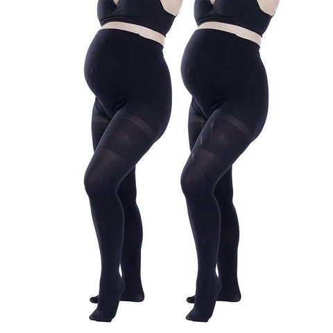 2 Pack Felicity Opaque Maternity Tights