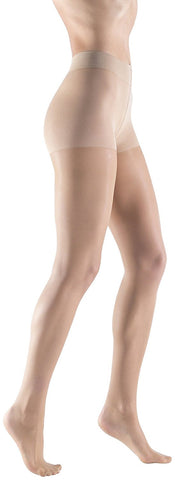 Womens Silky Ultra Sheer Pantyhose, 15 Denier, Invisible Effect Nude Hosiery, Durable (1 Pack)