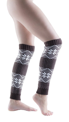 Sockbin Womens Fair Isle Warm Winter Legwarmers, Soft  (3 Pack)