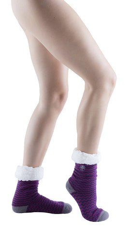 Womens Fleece-Lined Cozy Sherpa Fluffy Cloud Socks