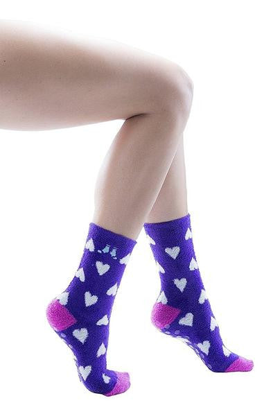 12 Pairs Cozy Socks for Women Premium Softest Plush Fuzzy Socks, Non-Skid Sole